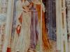 Fresko an der Außenwand Kirche Sankt Valentin