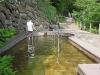 Wasseranwendung nach Kneipp