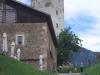 Der Gastbetrieb im Hof von Schloss Sigmundskron