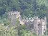 Blick auf die  Brunnenburg