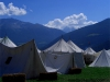 Ritter und ihre Zelte
