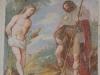Fresko Heiliger Sebastian, Hausfassade